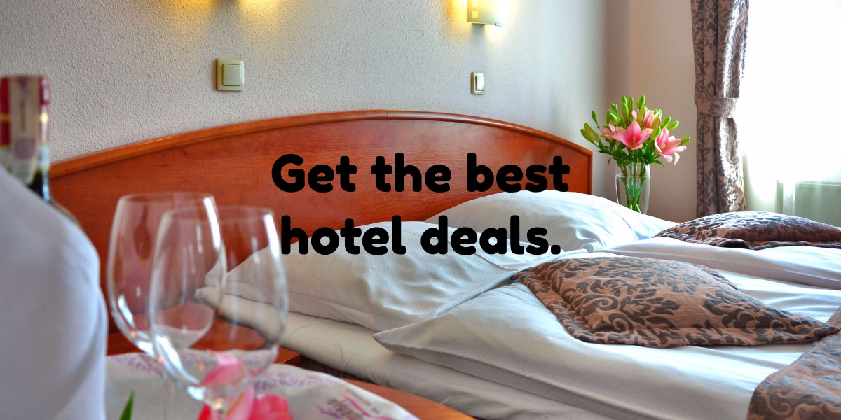 Get the best hotel deals today.